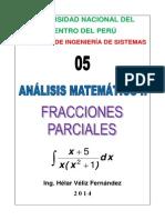 2 Parcial Fracciones Parciales Analisis 2