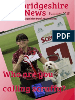Cambridgeshire Deaf News Summer 2015