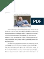 argumentative essay--homework