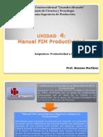 Unidad 4 FIM Productividad