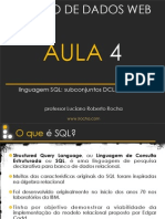 DML e DDL em SQL