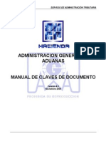 Manual de Claves Pedimento 4.0