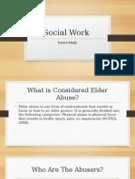 social work direct study