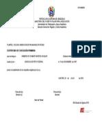 Certificado de Educacion Primaria Fidel