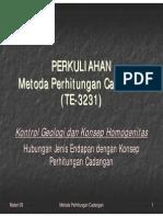 Materi MPC 03 Kontrol Geologi Dan Kontinuitas