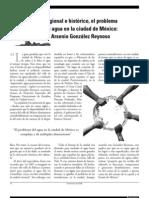 Inundaciones y escasez de agua en Ciudad de México - Arsenio Gonzalez Reynoso