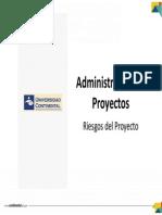 Tema 12 - Riesgos Del Proyecto