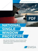 National Single Window Prototype - an electronic solution for simplifying administrative procedures