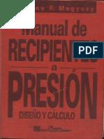 Manual de Recipientes a Presion Diseño y Calculo.