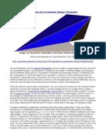 Templates for Asymmetric Integer Tetrahedra
