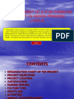 FF Establishment of Fish Farming Project in Andra Pradesh India
