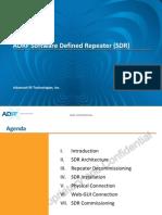 ADRF SDR Training