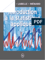 Introduction à La Statistique Appliquée