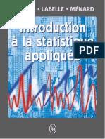 Introduction à La Statistique Appliquée