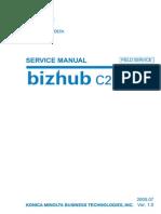 Bizhub C250 Field Service