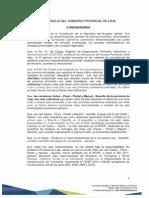 Resolusion de Consejo 26 Mayo 2015