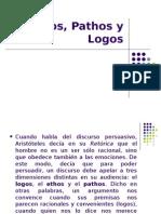 Ethos,Pathos y Logos2013