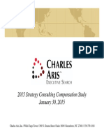 Charles Aris Strategy Consulting Compensation Study 2015