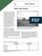 Www.soilcc.ca Ggmp Fact Sheets PDF Cattle Manure