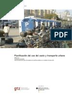 Planificacion Del Uso Suelo y Transporte Urbano