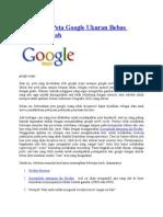 Mengambil Peta Google Ukuran Bebas Dengan Mudah