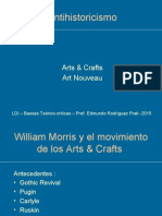 Antihistoricismo - Arts and Crafts y An
