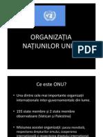 Curs IV - Managementul Conflictelor Internationale - OnU