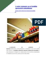 Los Robos Más Comunes en El Ámbito Empresarial Colombiano