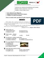 Subiect Si Barem LimbaRomana EtapaN ClasaI 14-15