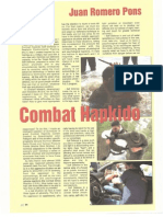 Combat Hapkido Article