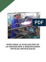VI Edicion 2011 12 Guia Para La Evaluacion de La Exposicion a Radiaciones Opticas Artificiales Virginia Perez