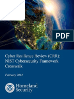 Csc Crr Nist Framework Crosswalk