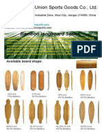 Bamboo Skateboard From Oriental-Union Sports2014