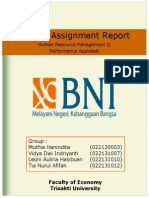 Performance Appraisal pada Bank BNI