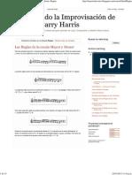 253988900 Entendiendo La Improvisacion de Jazz Con Barry Harris Reglas