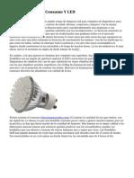 Bombillas De Bajo Consumo Y LED