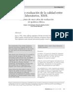 6. Programa Evaluacion Calidad Xxvii1 Resumen de once años de evaluación en química clínica.