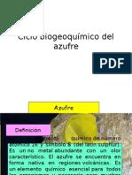Ciclo Biogeoquímico Del Azufre