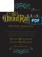 THE DEAD RABBIT DRINKS MANUAL by Sean Muldoon and Jack McGarry