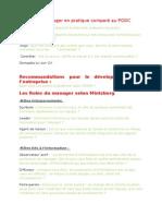 Que Fait Le Manager en Pratique Comparé Au PODC