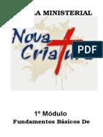 2º Módulo (Nova Criatura) - Pibst (Adaptado)