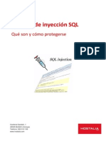Inyeccion SQL Wp Hostalia