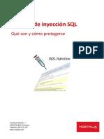 Inyeccion SQL Wp Hostalia