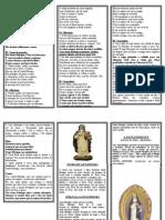 Folheto de Santa Edwiges Completo - Outubro