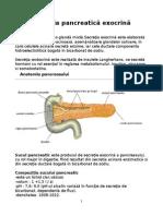 Secretia Pancreatica Exocrina