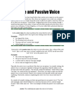 Active and Passive Voice Worksheet[1]