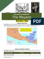 mayan answer key
