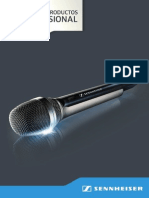 Microfonos Senneheiser