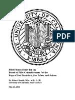 US Pilot Fitness Study 2011
