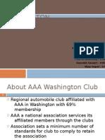 CASE 5-AAA Washington forecasting